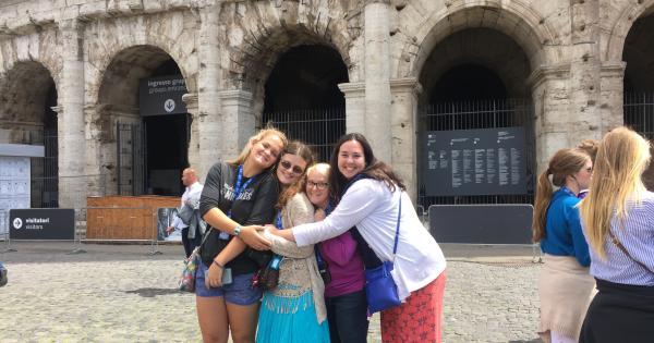 Studying in Italy and Greece